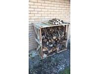 Wooden Crate, suitable for log storage