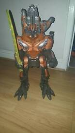 Large Transformers Figure. Makes Sounds & Lights Up