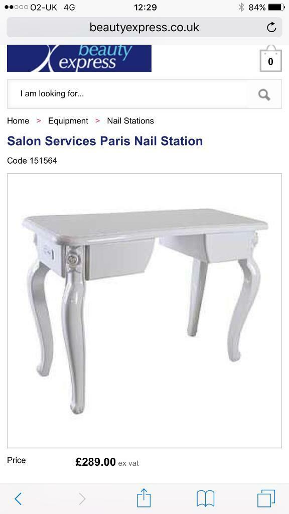 Nail desk / Manicure station | in Bournemouth, Dorset | Gumtree