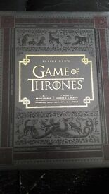 Inside HBO'S Game of Thrones Hard Back Book New