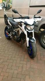 YAMAHA MT09 2014 very low miles