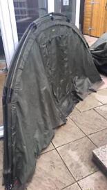 Trakker SLX V1 Bivvy with second skin and mossy mesh front.. Bargain