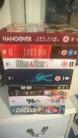 DVD's series and films boxsets