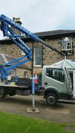 CHERRY PICKER, ACCESS HIRE, COMPETITIVE RATES, WITH OPERATOR.