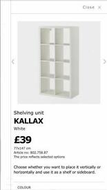 Ikea shelving wantes