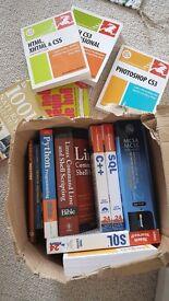 Computer books/job lot