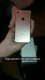 32gb rose gold iphone 7