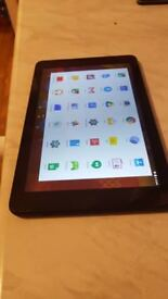 ALBA TABLET 10 INCH MINT AND BLACK IN GOOD WORKING CONDITION