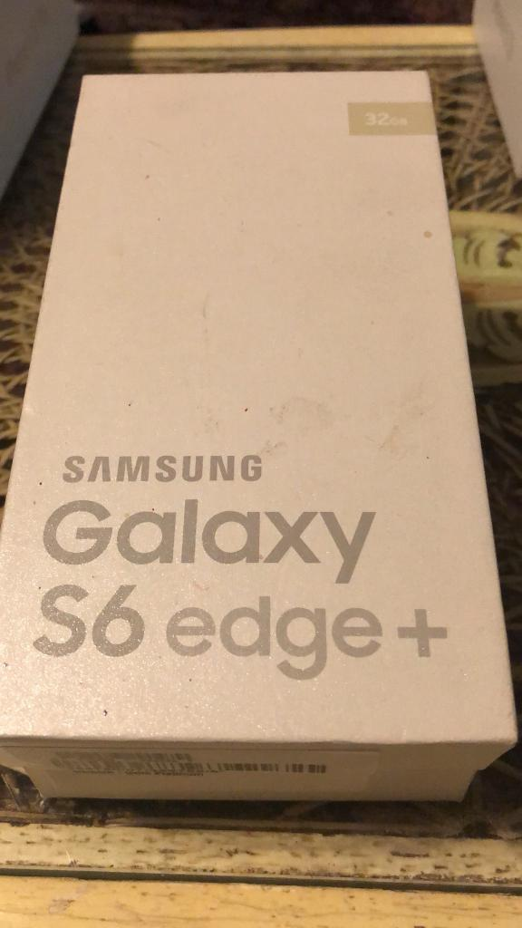 Samsung galaxy s6 Edge + 32 gb Boxed Unlocked Like New