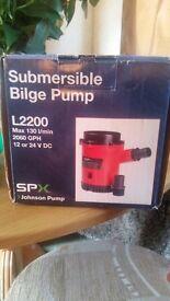 submersible bilge pump brand new