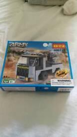 Cogo army action lego set