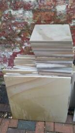 smooth Indian sandstone paving flags new Raj green