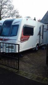 Bailey unicorn 2013 model 2 birth full service history, 6 years warranty remaining