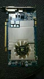 NVIDIA GEFORCE 130 1.5gb graphics card PCIE EXPRESS HDMI DDR2