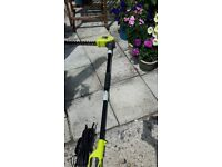 RYOBI RPT4045 Pole Electric High Reach Hedge Trimmer in good used condition and full working order
