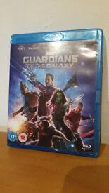 Guardians of the galaxy blu ray Mint