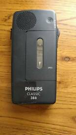 Philips classic 388 dictaphone