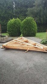 Truss 16x 6.6 very good quality clean perfect for extensions and garages