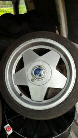 "16"" 4x108 Genuine Borbet A alloy wheels escort sierra fiesta focus 206 306 207 106 saxo ds3"