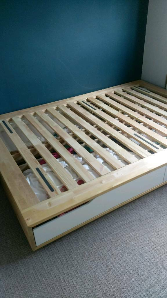 Double Bed Frame Base Ikea Mandal In Liberton Edinburgh Gumtree