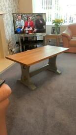 Handmade OAK refrectory/coffee table