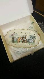 Lenox Winnie the Pooh plate and bowl