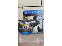 PS4 Call of Duty: Infinite Warfare and Call of Duty: Modern Warfare Remastered