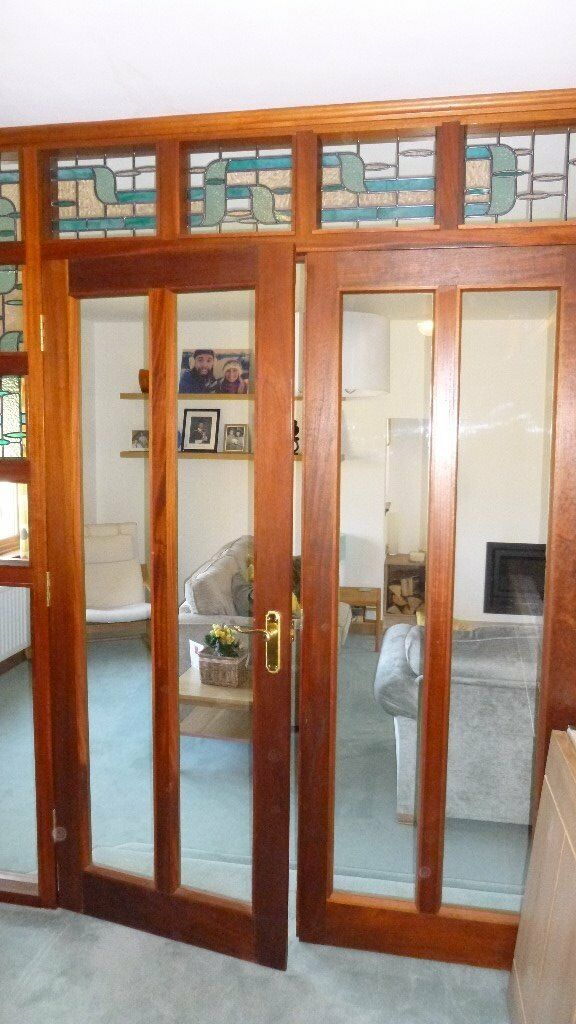 Glass Pane Doors Solid Wood With Modern Styling In Penrith