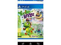 Ps4 game yooka laylee