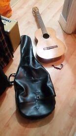 Admira BM Espana Classical / Spanish Acoustic Guitar GOOD condition FULL SIZE