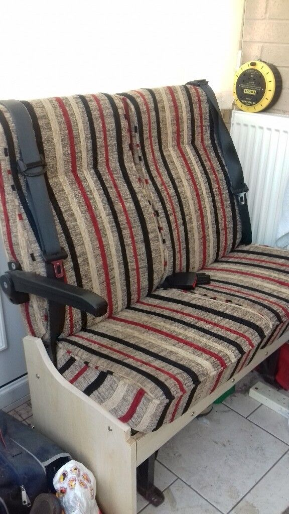 DOUBLE BELTED SEATS FOR VAN CONVERSION