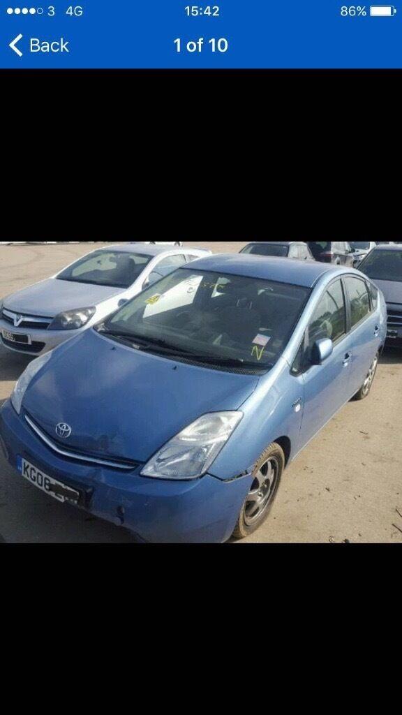 2006 Toyota Prius Hybrid Electric 1.5 (£1795)