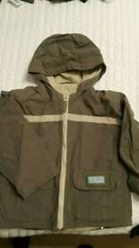 Boy todler jacket. Mothercare 4-5yr