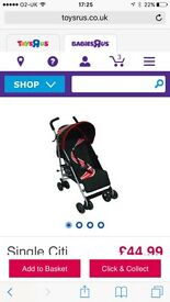 Pushchair, buggy, stroller