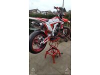 Crf450r supermoto road legal 2013