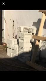 Sand and lime reclaimed bricks
