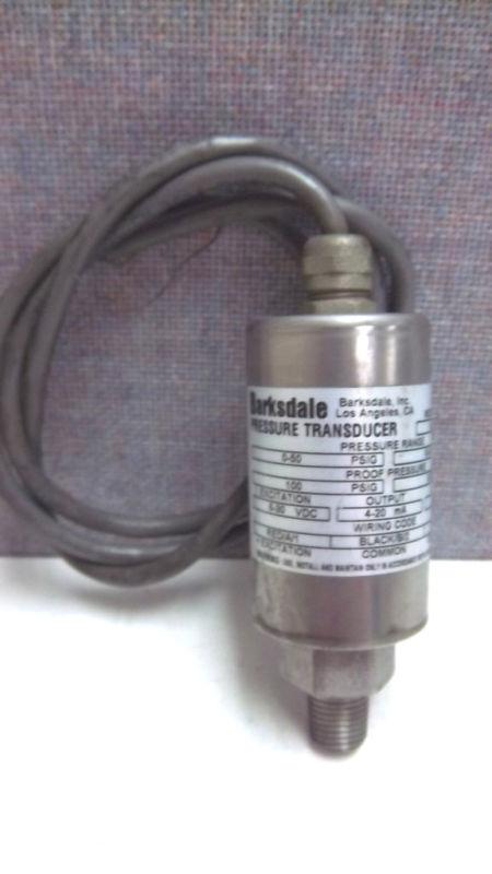 BARKSDALE PRESSURE TRANSDUCER 425H303 USED 425H3-03