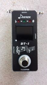 Donner in line tuner pedal