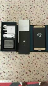 Samsung Galaxy s7 Edge dual sim gold