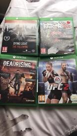 Xbox one games , can buy individually