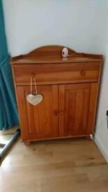 Spacious pine cupboard
