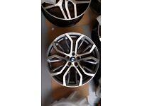 BMW X5 X6 STYLE 4 NEW ALLOYS ALLOY WHEELS M SPORT X5M X6M M6 M5 E53 E70 F15