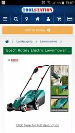 Bosch 32 Ergoflex lawnmower