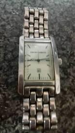 Man's armarni watch
