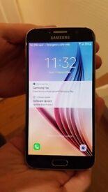 Samsung S6 32gig black saphire . Good condition.