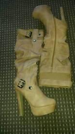 High heels - boots