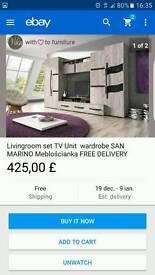 Wardrobe living room set