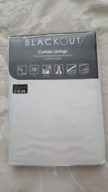 Black out curtain linings