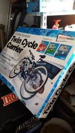Cycle carrier twin max load 30kg for any car