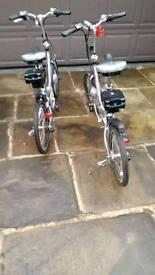2. Electric bikes